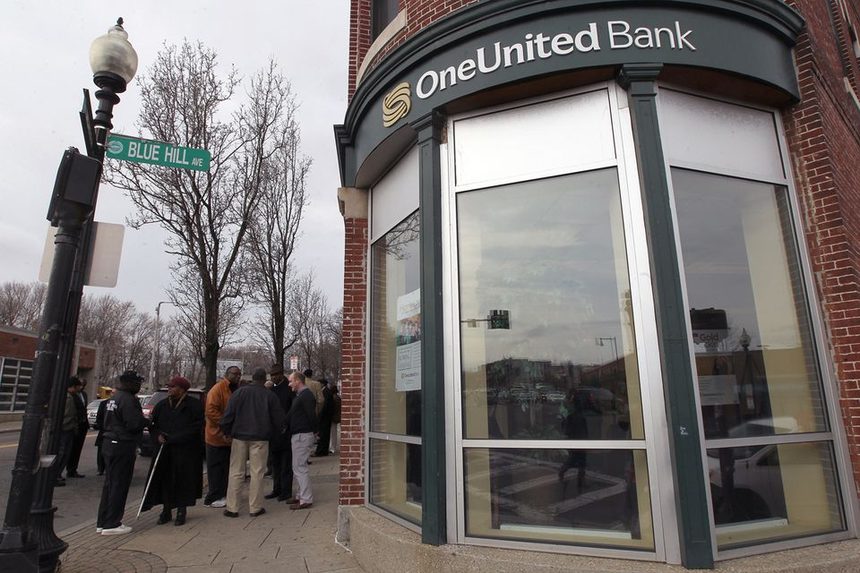 OneUnited Bank has its roots and headquarters in Boston, but most business is conducted from Los Angeles.