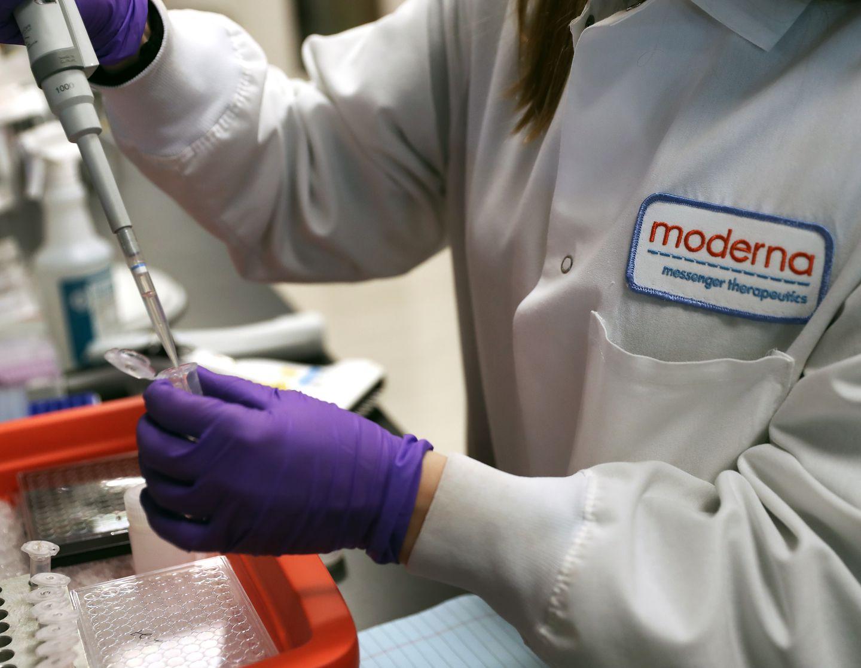 Moderna says first-stage study of coronavirus vaccine produced ...