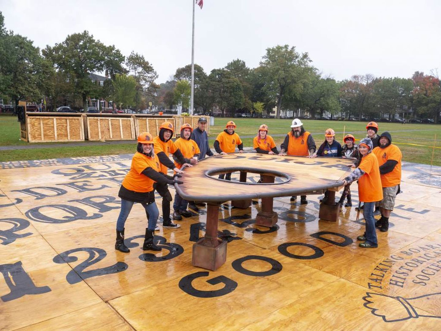 Who Owns The World S Largest Ouija Board A Halloween Investigation The Boston Globe