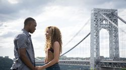 """Corey Hawkins (left) and Leslie Grace in """"In the Heights."""""""