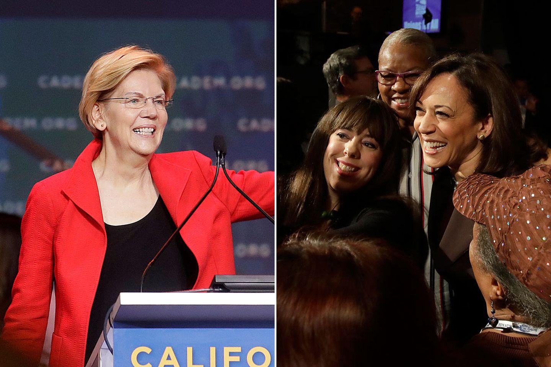 As Candidates Descend On California Kamala Harris Struggles To Defend Her Home Turf The Boston Globe