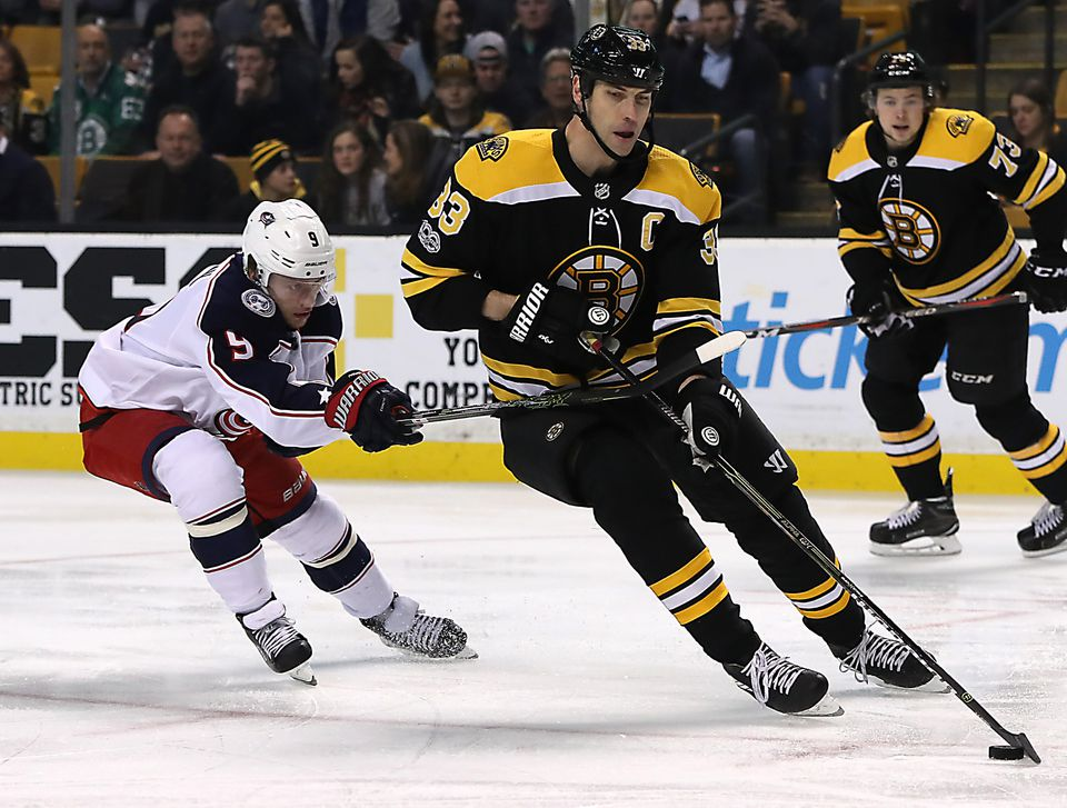 Even at 41, Zdeno Chara is still the top defenseman for the Bruins.