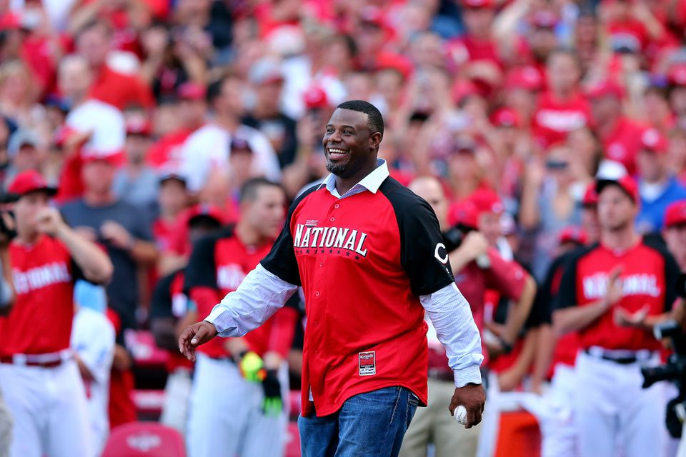 This is the first year Ken Griffey Jr. is on the Hall of Fame ballot.