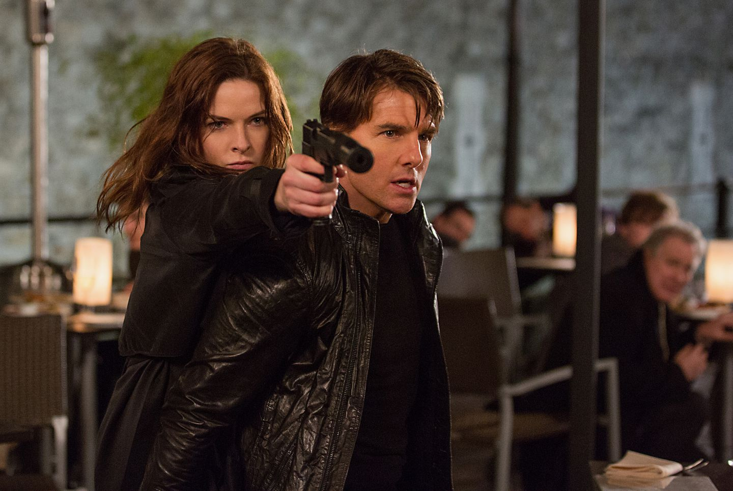 Mission: Impossible' climbs to No  1 at the movies - The