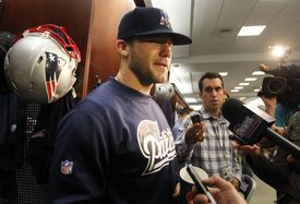 """Edelman doesn't like to hear comparisons of him to Wes Welker.  """"I'm not trying to replace Welker,"""" he said."""