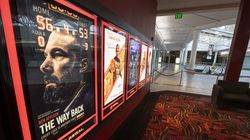 In this March 4, 2020, file photo, a movie theater at the Silver City Galleria opens up into the near empty mall.