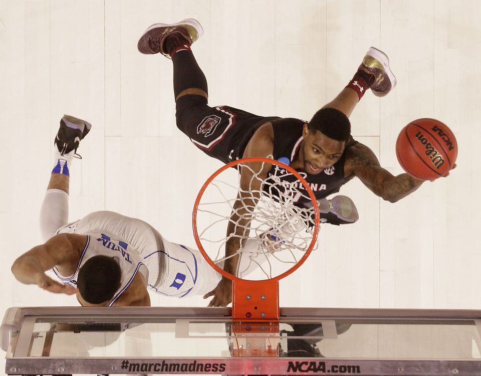 South Carolina's Sindarius Thornwell is averaging 21.6 points and 34.2 minutes per game.