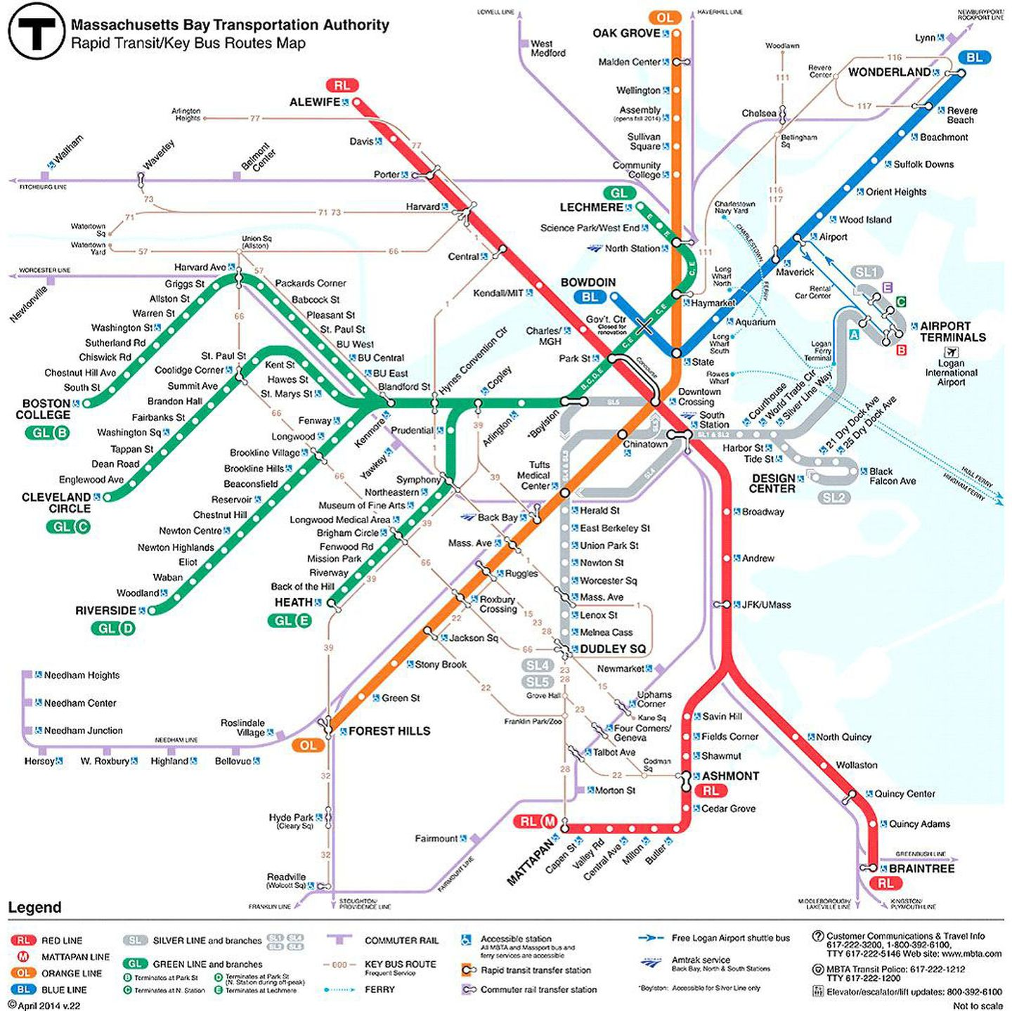train in boston map T Debuts Revamped Map Real Time Tracking Info The Boston Globe train in boston map