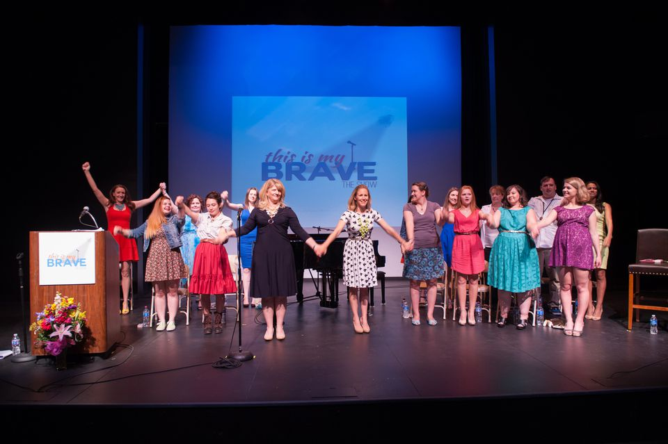 """""""This Is My Brave"""" is a nonprofit theater for teens to share their stories."""