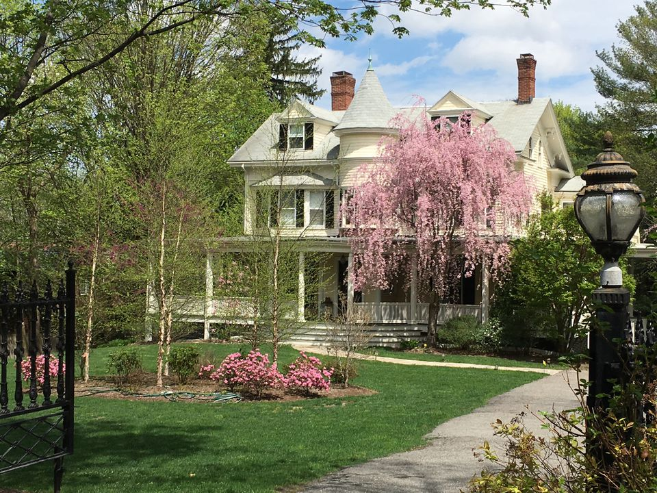 The house at 128 Chestnut St. joins 21 other homes in Newton that have been designated local landmarks.