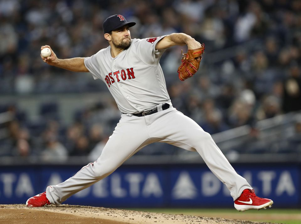 Nathan Eovaldi went six innings and allowed one run on three hits last Wednesday against the Yankees.