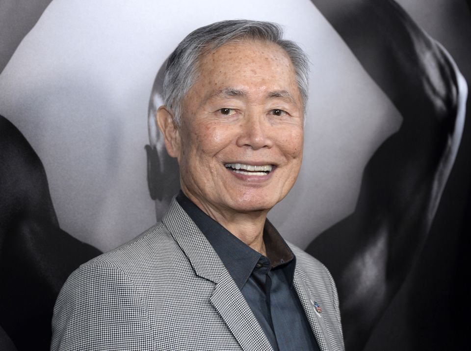 Actor George Takei.