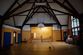 When Walsh was 17, he waged a campaign to save Saturday floor-hockey games at the Little House.