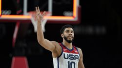 Jayson Tatum and Team USA will be going for gold Friday night.