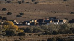 The Bonanza Creek Film Ranch is seen in Santa Fe, N.M.