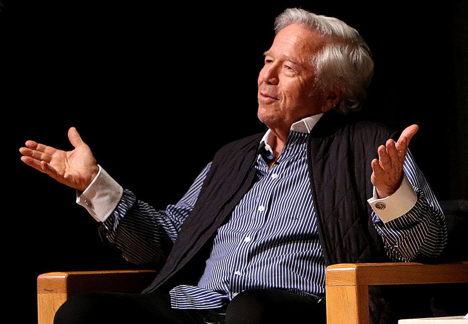 Robert Kraft was one of 25 men nabbed in connection with the Orchids of Asia sting.