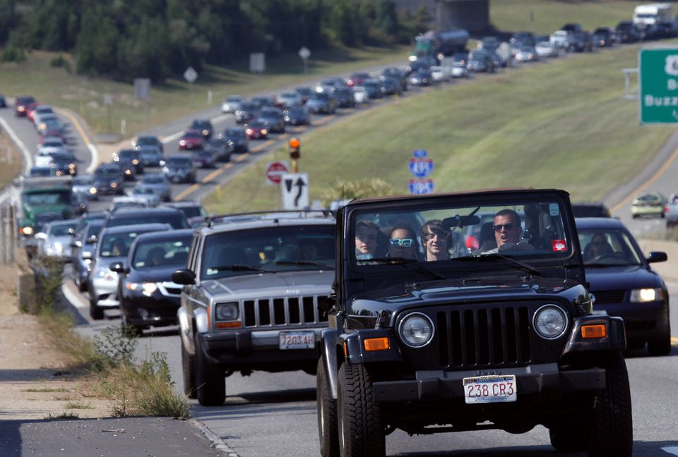 Cape-bound traffic typically ramps up on Thursday and gets worse on Friday before peaking on Saturday.