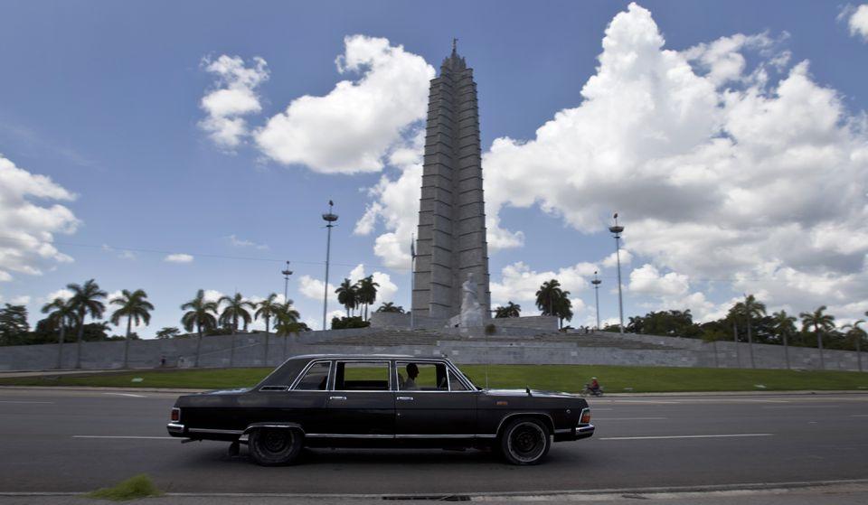 Revolution Plaza in Havana, Cuba.
