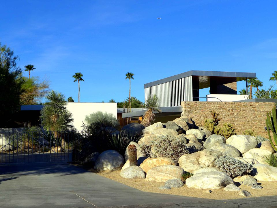 The Kaufmann House in Palm Springs, which is considered Richard Neutra's Modernist masterpiece.