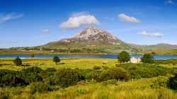 Mount Errigal in County Donegal, Ireland.