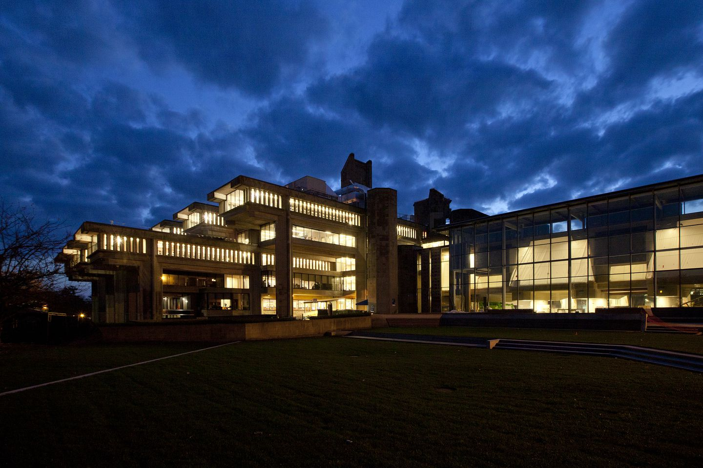 Paul Rudolph S Brutalism Reworked At Umass Dartmouth The Boston Globe