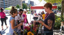 The Boston Local Food Festival hosted over 80 vendors on the Greenway in 2019.
