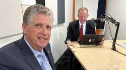 Rhode Island Governor Daniel J. McKee spoke to Boston Globe reporter Edward Fitzpatrick for the Rhode Island Report podcast.