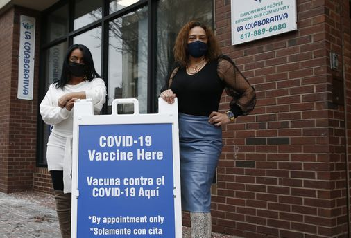 Local groups in Chelsea team up to launch a hard-earned vaccination site - The Boston Globe