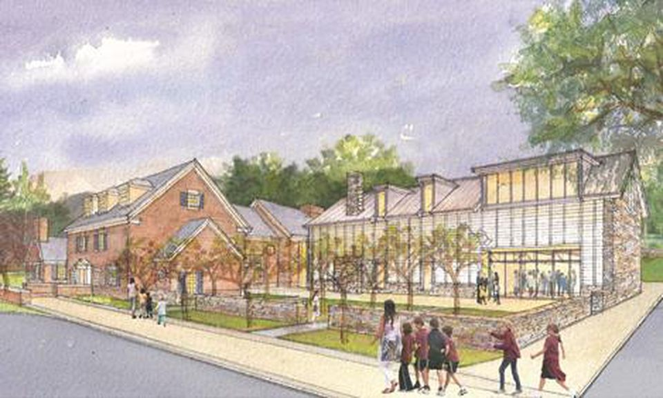 """The museum's campus will include a 110-seat """"lyceum"""" for meetings and lectures."""