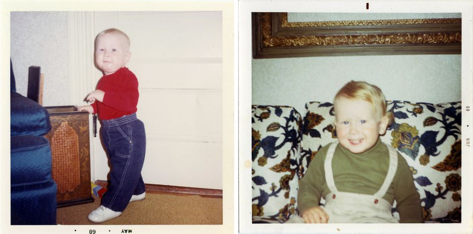 """Douglas Cyr, the late son of James """"Whitey"""" Bulger and Lindsey Cyr of Weymouth, at about two years old."""