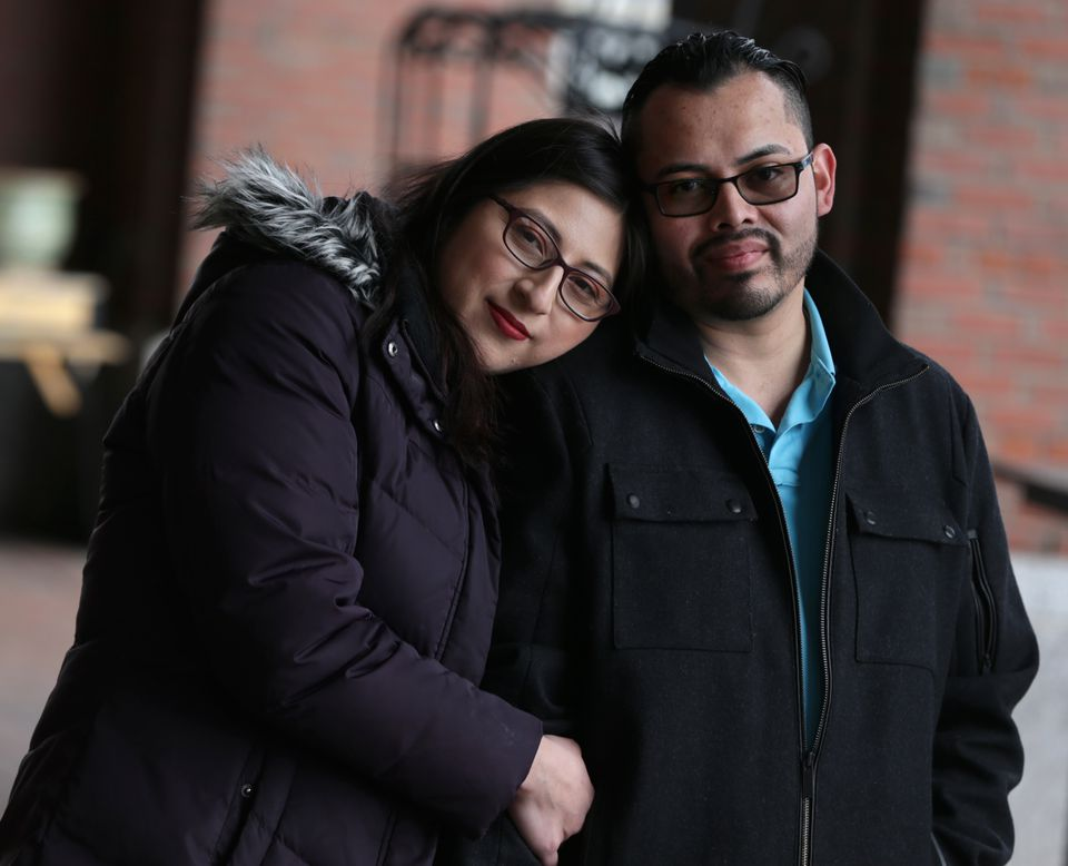 Lilian Calderon was arrested in January at a government office in Rhode Island after officials told her she could begin the application process for legal status as they believed her marriage was legitimate.