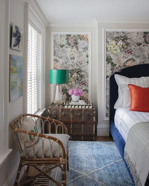 Home design inspiration: A bold choice for a redesigned bedroom