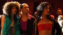 """From left:  Indya Moore, Ryan Jamaal Swain, and Mj Rodriguez in """"Pose."""""""