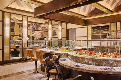 Wondrous Our Food Critic Ate Her Way Through The Encore Boston Casino Interior Design Ideas Jittwwsoteloinfo