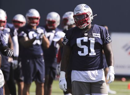 brand new 2baf8 4f3f5 Patriots' Ja'Whaun Bentley looks ready to contribute - The ...