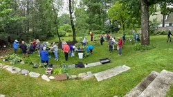 Newton residents traded plant and garden items at an annual plant swap June 12 at the Durant-Kenrick House and Grounds.
