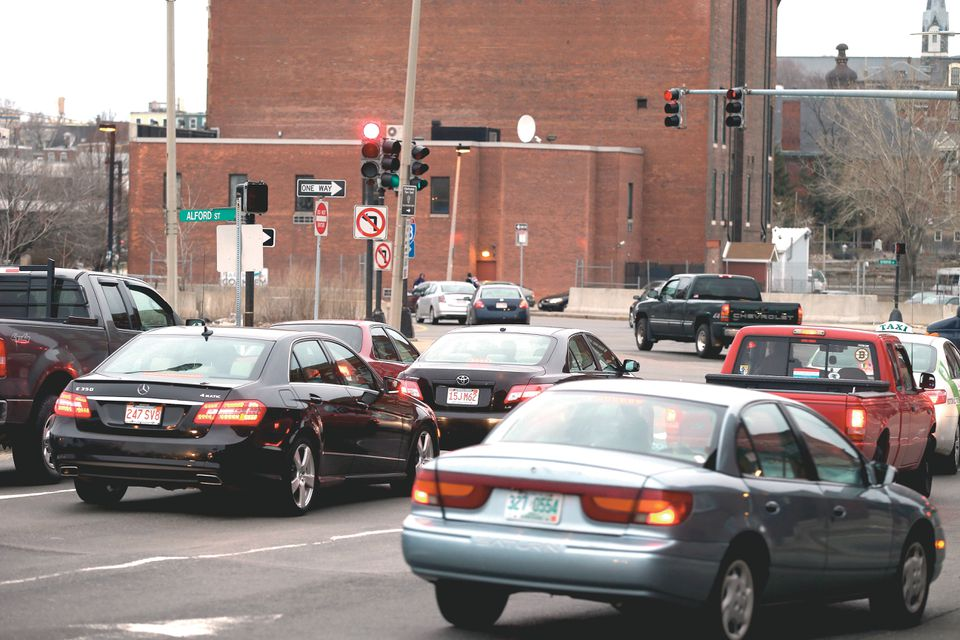 The Boston roads where the most distracted driving events occurred all shared a common theme: they are all heavily congested during rush hour, which may be why drivers get distracted by their phones so often as they sit in traffic.