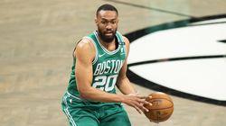 Jabari Parker appeared in 10 games for the Celtics last season.