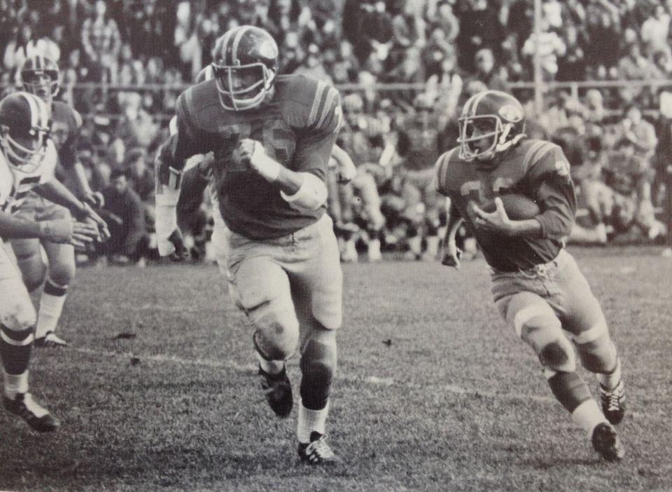 Arthur T. Demoulas was a running back on the Andover High football team.