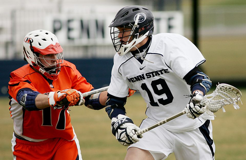 Chris Hogan starred in lacrosse at Penn State before turning his attention to football.