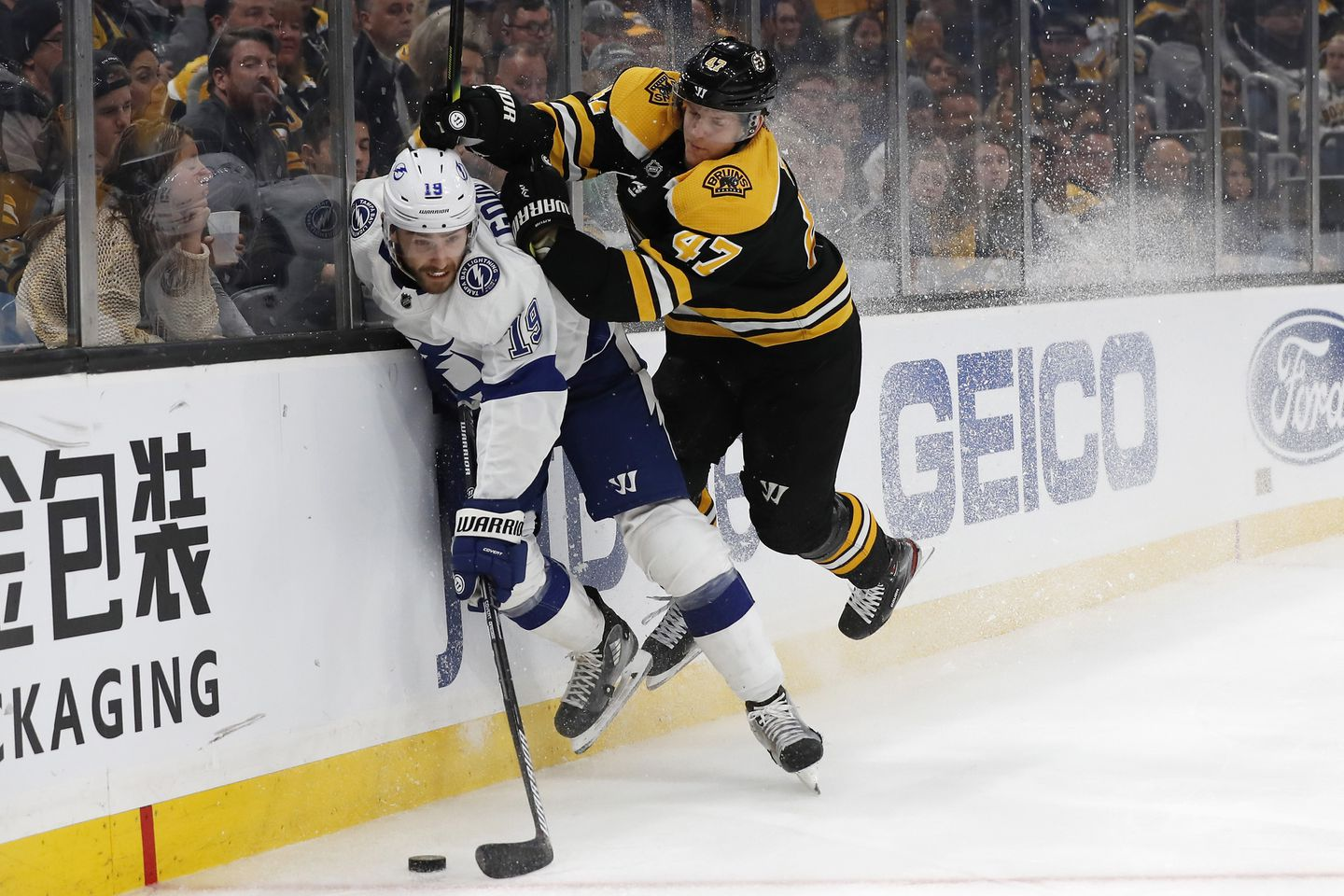 Bruins To Be Without Second Defensive Pair Vs Flyers The Boston Globe