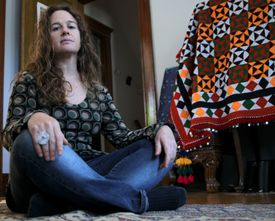 Activist Susan Barney of Arlington has been included in intelligence reports by the Boston Police Department.