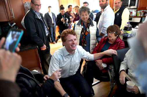 A climate change forum gets the cold shoulder from Joe Kennedy - The Boston Globe