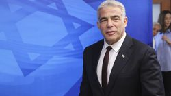 Israeli Alternate Prime Minister and Foreign Minister Yair Lapid arrived for the first weekly cabinet meeting of the new government in Jerusalem on Sunday.