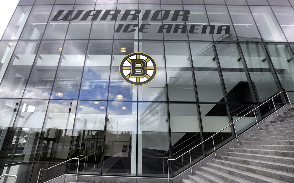Warrior Ice Arena from the outside.