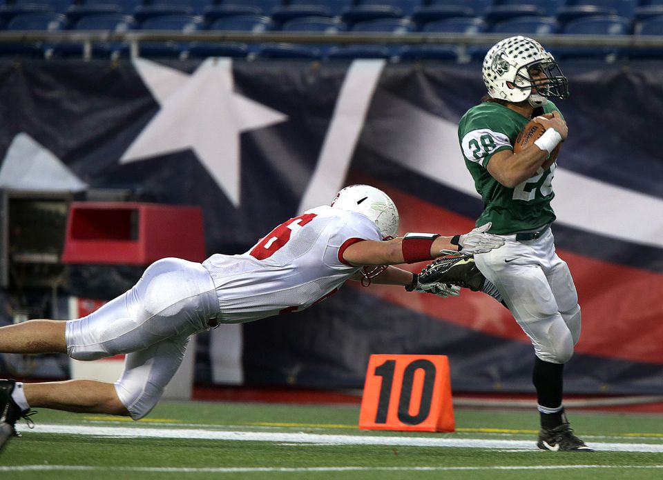 Chris Martin racked up 1,693 yards and 28 touchdowns to lead Dartmouth to a second consecutive Division 3 Super Bowl title.