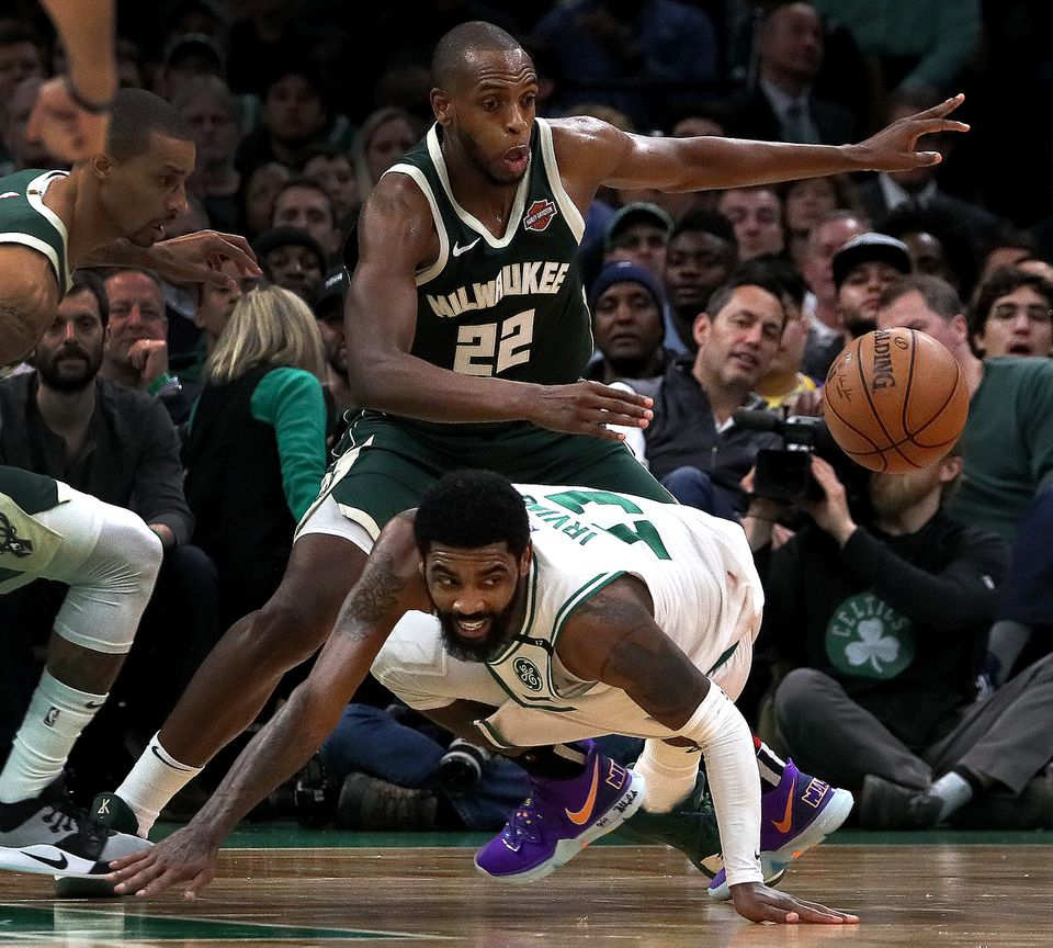 Khris Middleton averaged 19.2 points per game in the Eastern Conference semifinals against the Celtics.
