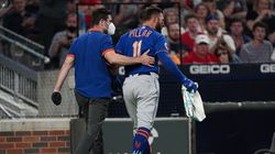 Kevin Pillar was hit square in the nose by a 95-mph fastball from Atlanta reliever Jacob Webb on Monday night, sending the outfielder to the injured list, but he was at the ballpark on Tuesday saying he felt relatively good.
