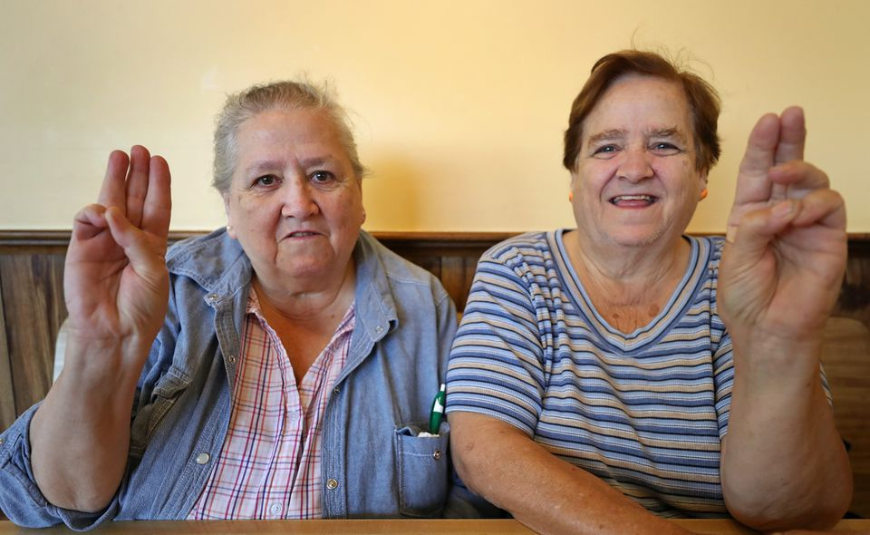 Janice (left) and Elizabeth Hale have given more than 100 years between them to the scouts.