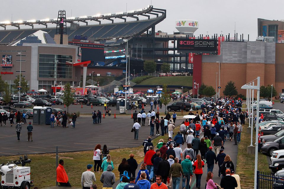 The Patriots installed a high-capacity Wi-Fi network at Gillette to make the app run smoothly, and the rest of the NFL is catching on.